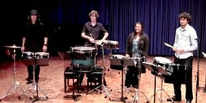 SoundStruck Percussion a Crossbows