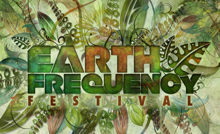 Earth Freequency Festival Poster