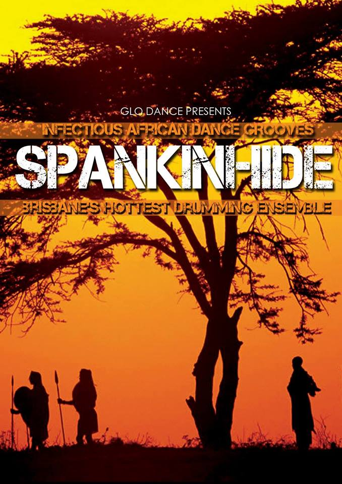 Spankinhide Glo dance poster
