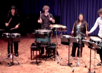 SoundStruk Performs Junglemania at QLD Conservatorium