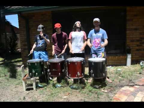 Rehearsing Etna outside