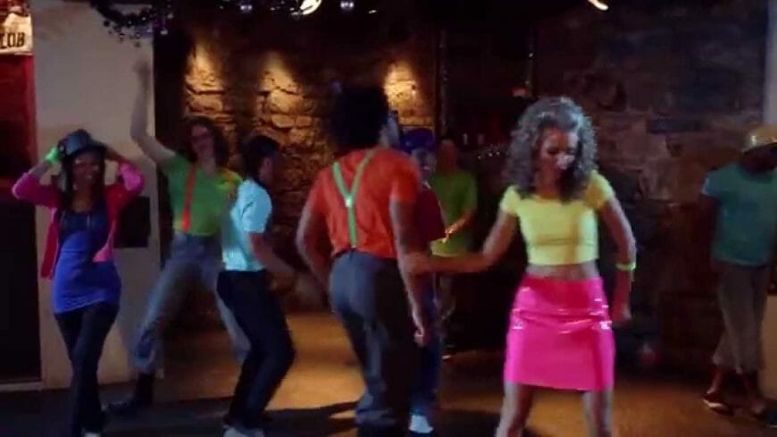 Dancing from Feel the Love Music Video