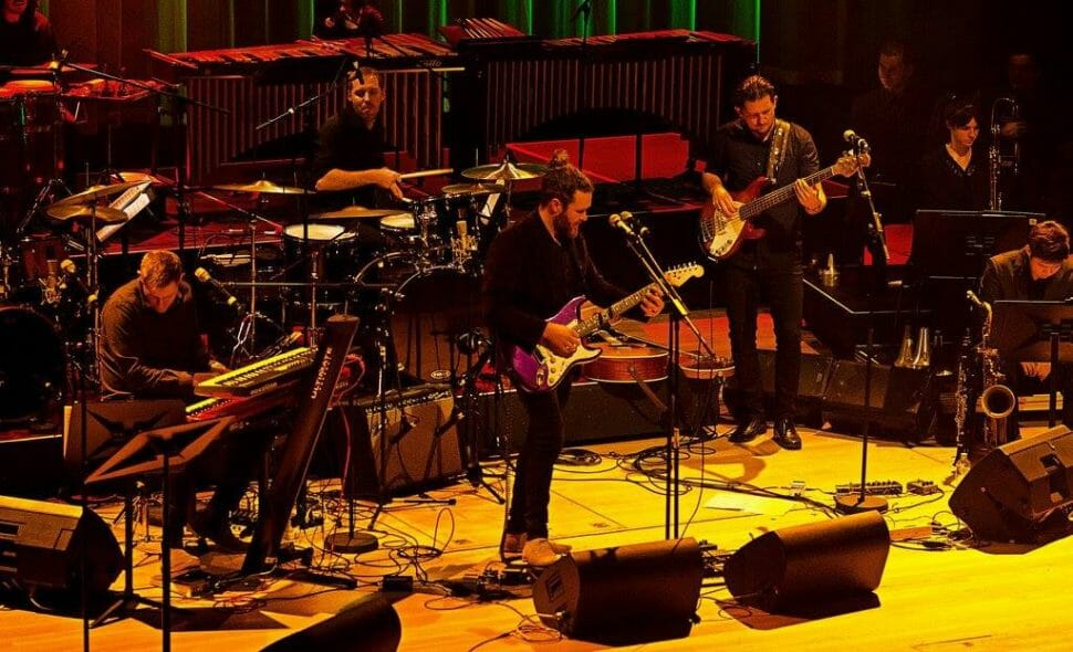 Band of Frequencies at Standing Waves Concert
