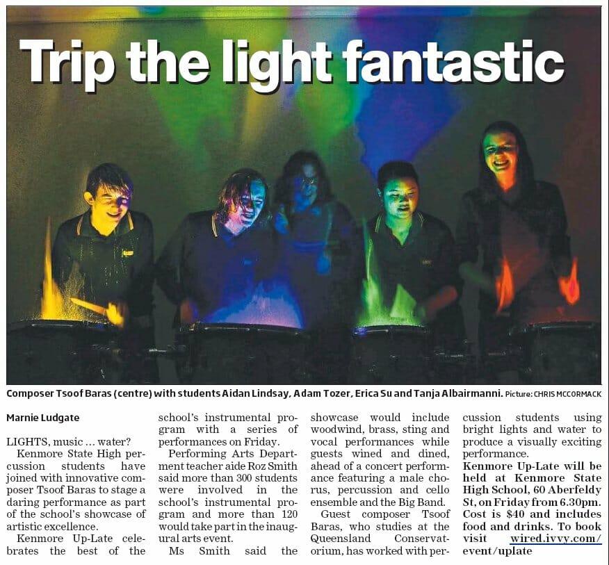 Trip the light fantastic - news article