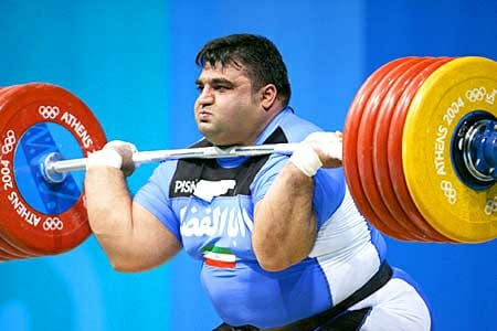 Hossein Rezazadeh Olympic Deadlift