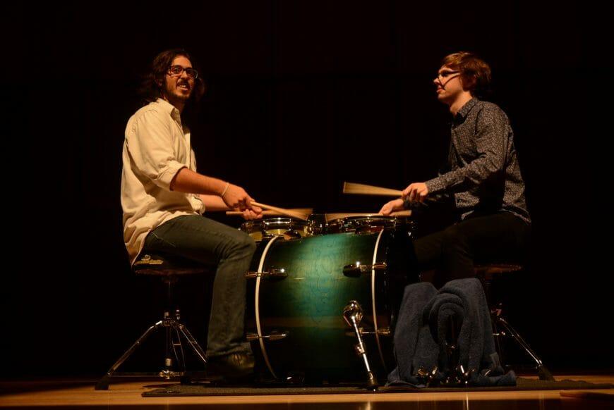 Tsoof and Lachlan play Rhythm Magic by David Jones