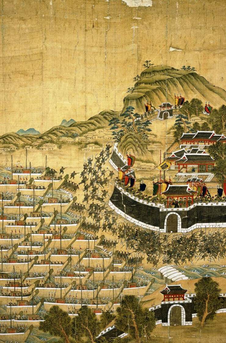 Siege of Busanjin Painting